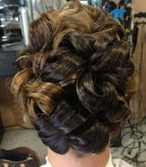 Updos and styles for weddings and proms