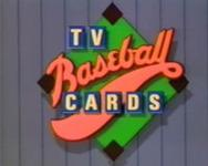 TV Baseball Cards