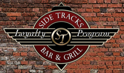 Side Tracks Loyalty Card