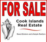 Cook Islands Real Estate For Sale sign