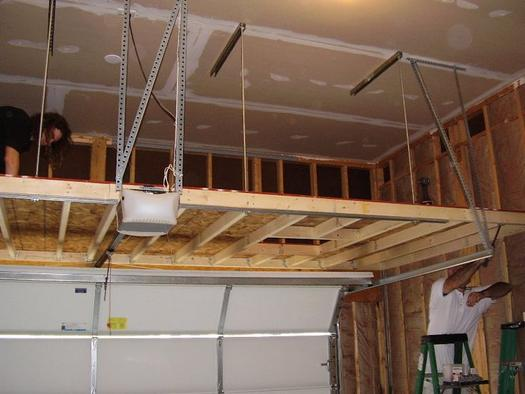 Top Overhead Garage Storage Installation Services And Cost in McAllen Texas | Handyman Services of McAllen