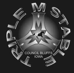 Triple M Stable Logo Council Bluffs Iowa