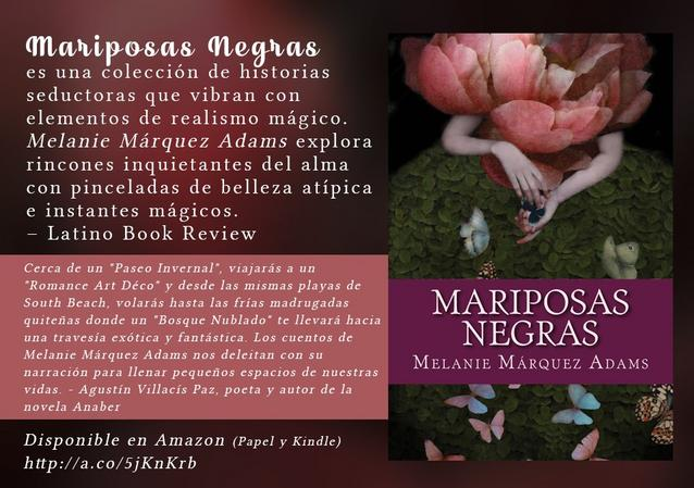 Melanie Marquez Adams short stories cuentos Latina writers escritoras Isabell Allende