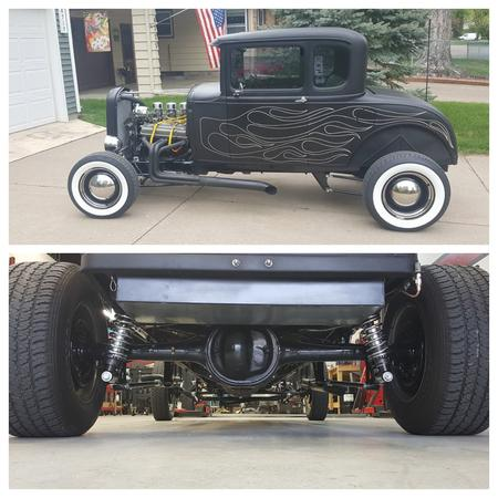 1930 1931 model a coil overs street rod hot rod baby moons