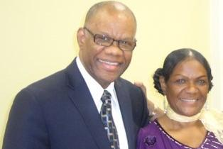 Pastor George Ramocan and Beverlie