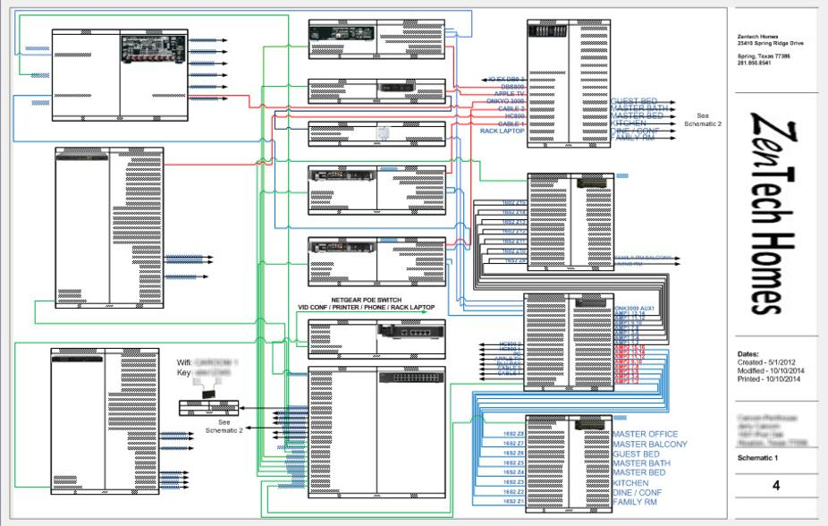 architect, Wiring diagram