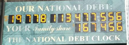 Link to Debt Clock