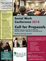 Social Work Conference 2018 Call for Proposals