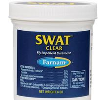 Swat Fly Repellent Ointment for Horses 7.5-oz Clear