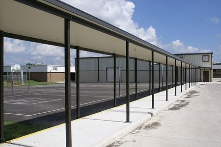 Chism Company Metal Covered Walkway