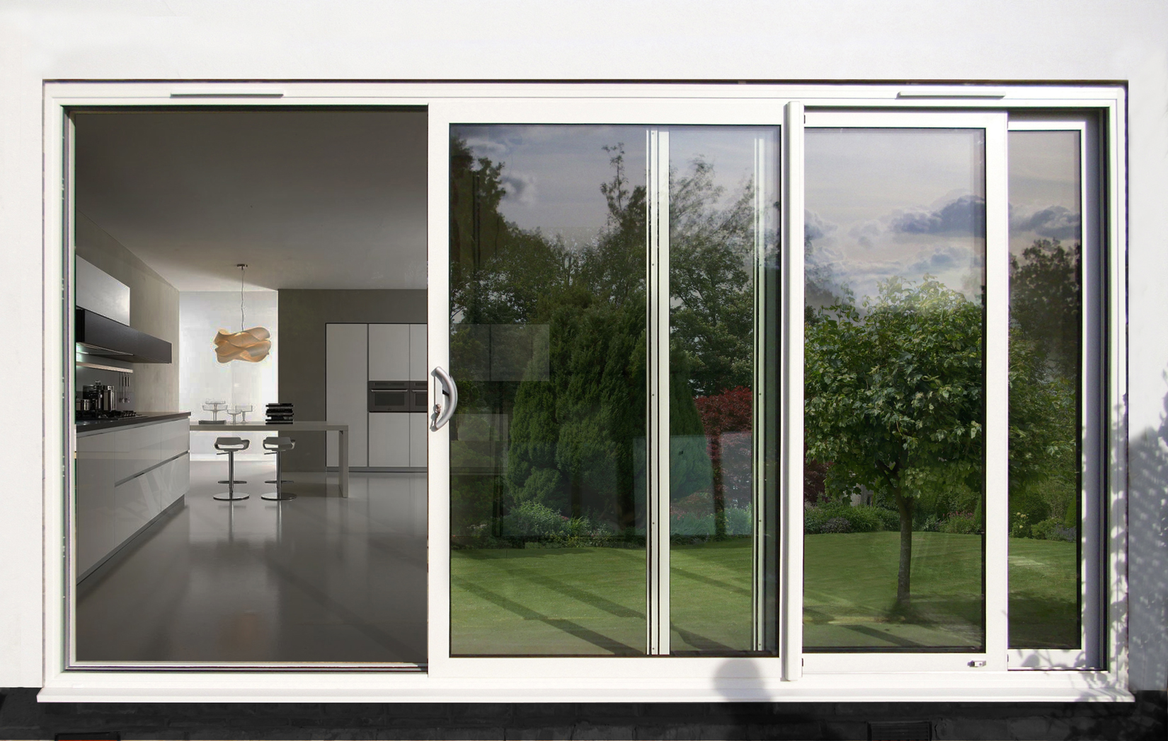 Sliding french doors price - Aluminium Sliding Doors