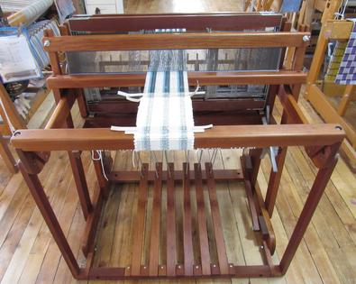 "Used 30"" Norwood Cherry 4 Shaft Loom"