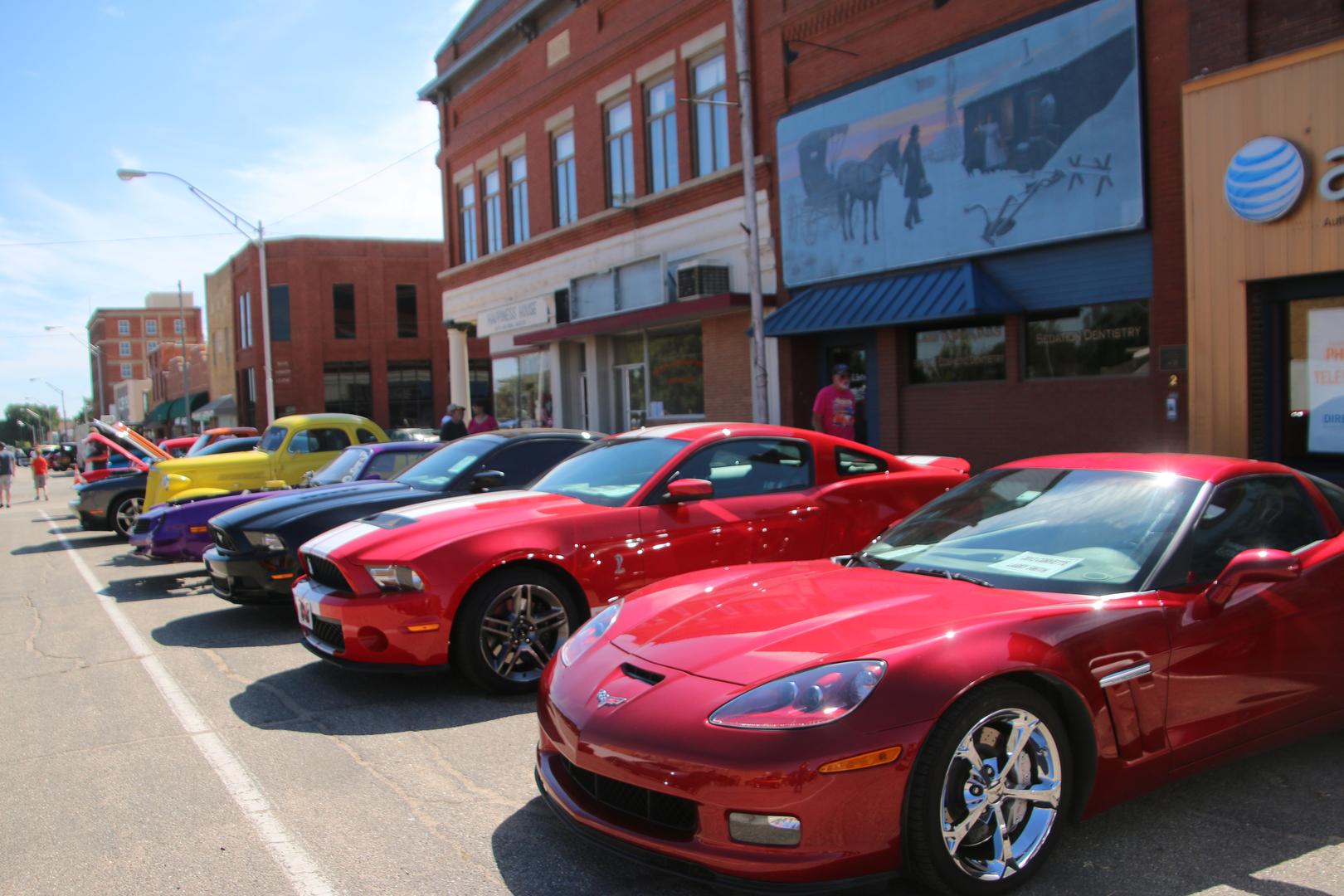 big cruise and car show car show free car show