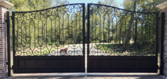 Wrought Iron Gates Houston
