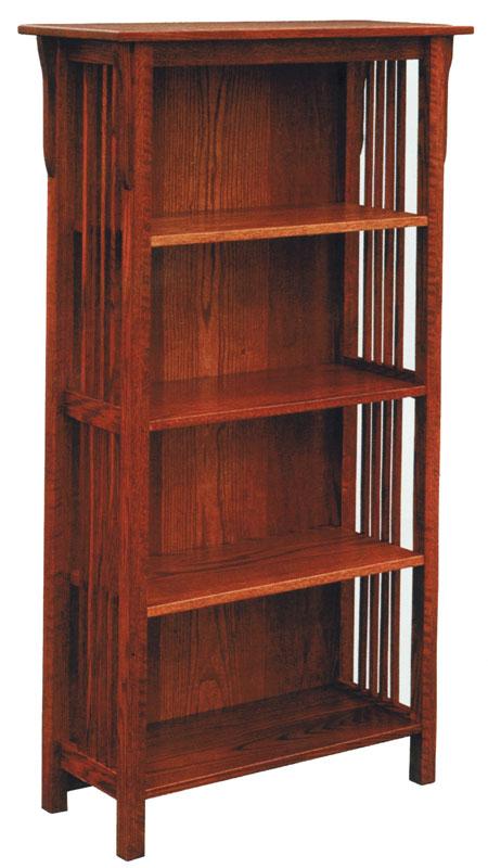 Barrister Bookcase One Piece 3 Door
