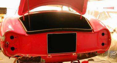 classic car garage sw france, alfa romeo sprint speciale, restoration, classic cars