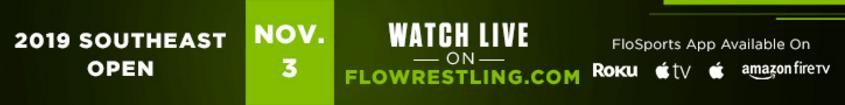 Southeast Open - STREAMING LIVE ON FLOWRESTLING!