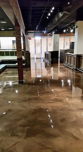 Reflector Enhancer Metallic Epoxy Flooring
