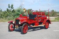 1920 Ford/American LaFrance chemical wagon Photo Credit: Ex-Chief Bob Vaccaro, Deer Park FD