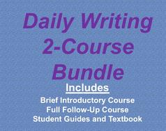 Two Courses in Daily Writing, introductory and follow-up daily writing course