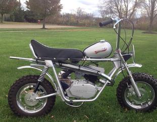 Mini Bikes Decals Broncco Herter S Boonie Bike Allis Chalmers