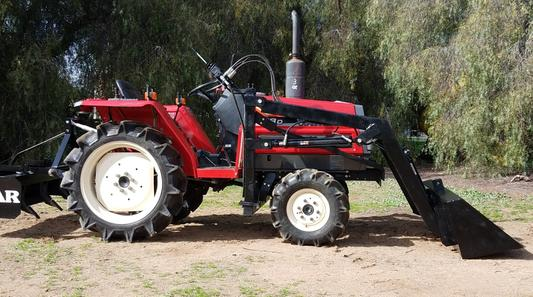 Yanmar F18d 4x4 Used Compact Tractor For Sale