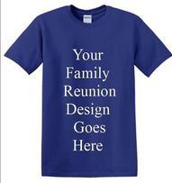 FAMILY REUNION SHIRTS SCREEN PRINTING DESIGNS