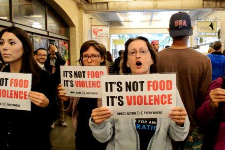 not food violence DXE direct action everywhere