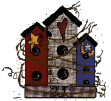 Sherry's Country Crafts Birdhouse Logo
