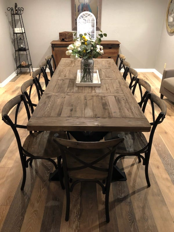 Coastal And Farmhouse Style Dining Tables Decor Direct Wholesale