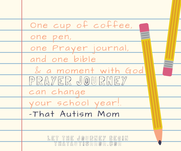 31 Prayer Journey for New School Year!!