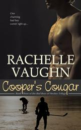 Cooper's Cougar by Rachelle Vaughn romance book bad boys of hockey