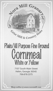 Nora Mill Plain All Purpose Fine Ground Cornmeal
