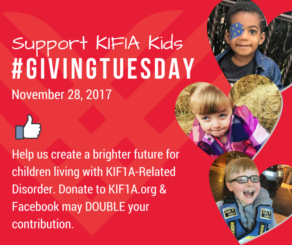 KIF1A Giving Tuesday