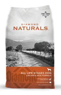 Diamond Natural with Chicken and Rice All Life Stages Dog Foodg Food