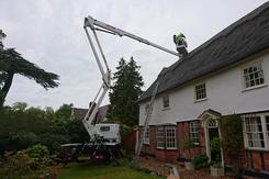 Colchester Cherry Picker Hire - Nifty 120T and Scissor platforms Essex