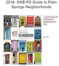 Link to Purchase ONE-PS Neighborhood Guide