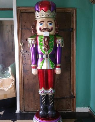 Giant Life Size Nutcracker Prop Hire