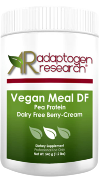 Adaptogen Research, Vegan Meal DF- Pea Protein - PaleoSnack DF