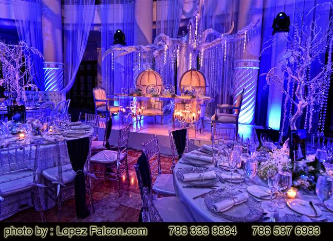 Quinces at Westin Colonnade Coral Gables hotel Quinceaneras parties Miami Quince Party