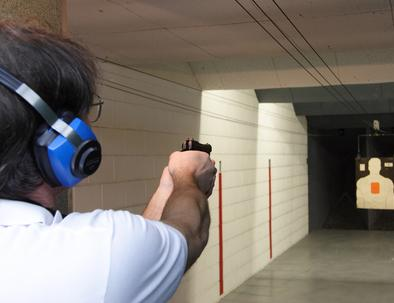 Rifle & Pistol Shooting Range, Group Events Police & Security