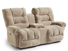 Seger Rocker Recliner Loveseat, available with console