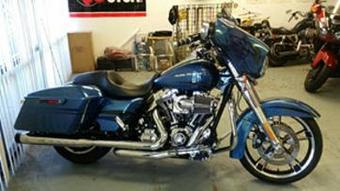 Street Glide is a great motorcycle to rent