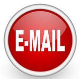 "Red button with white caption ""E-MAIL"""