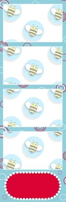 Bumblebee Booths Photo Strip sample #39