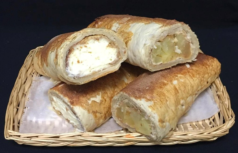 Apple Or Cheese Strudel