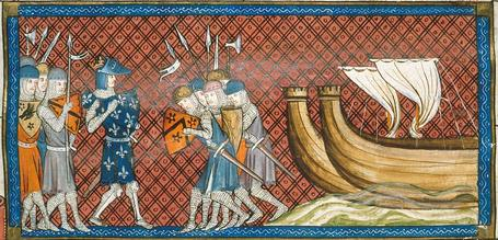 Christian Siege Of Acre During The Third Crusade