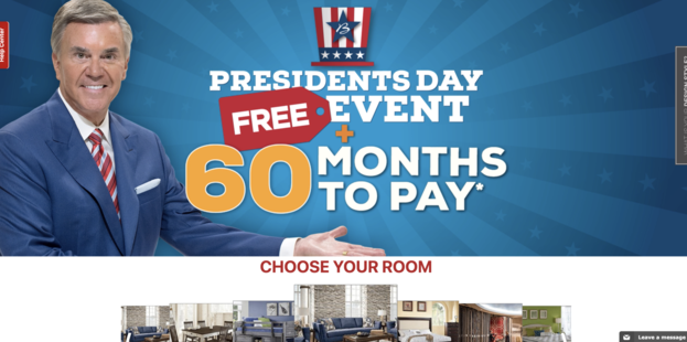 Bob Mills - Presidents Day FREE Event