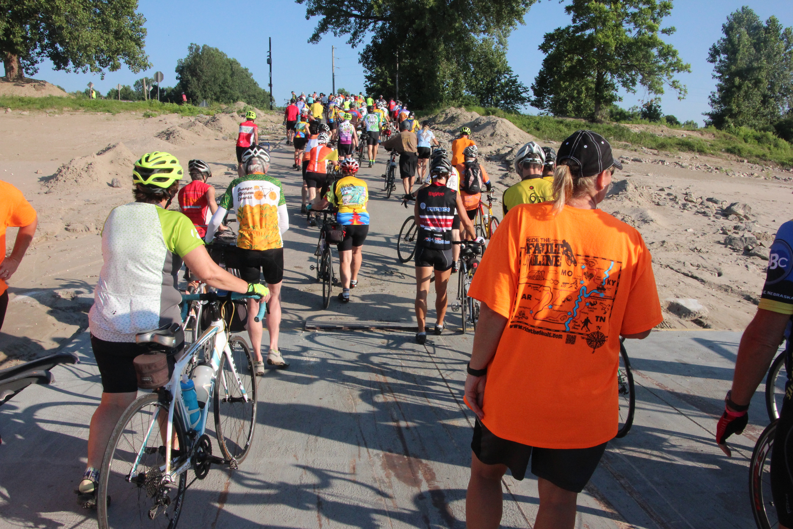 Ride the Fault Line cycling tour experience