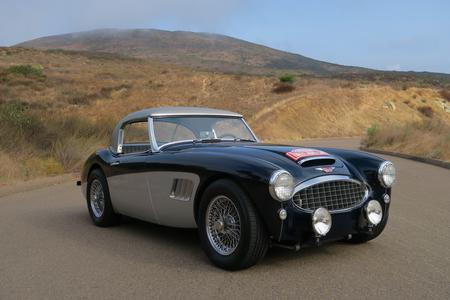 1962 Austin Healey 3000 MK 2 BT7 Roadster for sale at Motor Car Company in San Diego California
